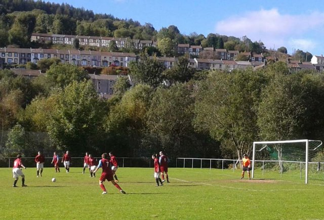 Stanleytown - football in the Rhondda Fach